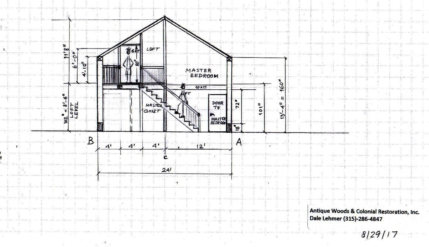 barn home designs drawings